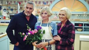 Victoria Wood with Paul Hollywood and Mary Berry
