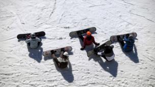 Snowboardistas