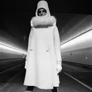 French Elle, 1 September 1966. 'Du Nouveau sous le nouveau tunnel' Fashion by Cardin