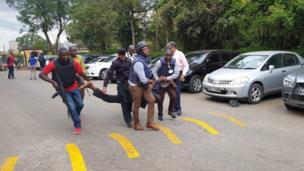 Hoteli ya Dusit yashambuliwa