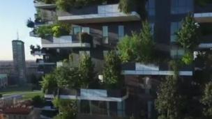 Công trình nhà cao tầng của Stefano Boeri thiết kế tại Milan