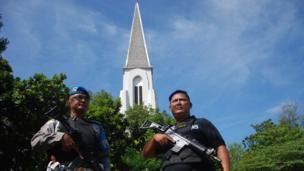 كنيسة إندونيسية
