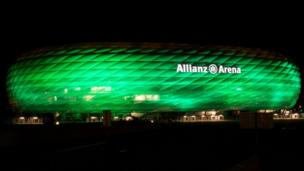Allianz Arena in Munich, Germany
