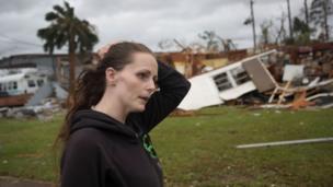 امریکی کی شمالی مغربی ریاست فلوریڈا ایک بار پھر سمندری طوفان کی زد میں ہے۔