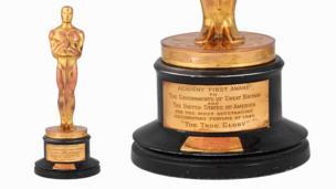 Academy Award awarded for The True Glory, 1945