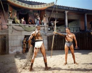 Kirk Douglas in the film Spartacus