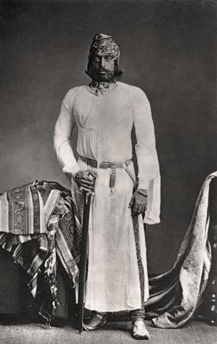 Jodhpur, His Highness, Maharaja Jaswant Singh II, G.C.S.I., 1877 Courtesy MAP / Tasveer