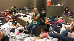 ABD'de kaçak göçmenlerin tutulduğu gözaltı merkezlerinden biri
