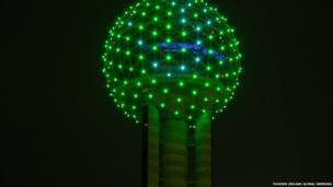 Reunion Tower in Dallas, Texas