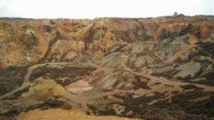 Parys copper mine on Anglesey