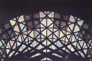 صورة التقطها من محطة قطارات لندن.