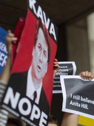 Protesta contra Kavanaugh