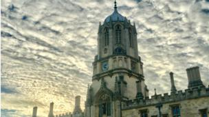 Tom Tower at Christchurch College, Oxford