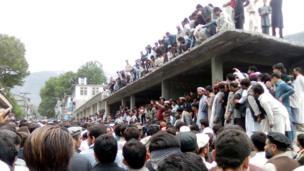 محتجون في باكستان