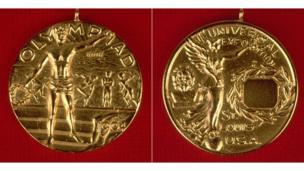 1904 йилги Олимпиада медали