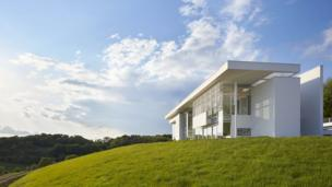 Oxfordshire Residence, Wallingford by Richard Meier & Partners Architects LLP with Berman Guedes Stretton