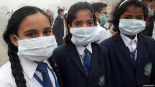 Rohtak School students