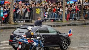 Prancis, Macron