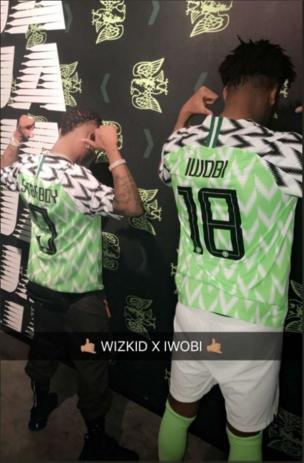 Iwobi and Wizkid