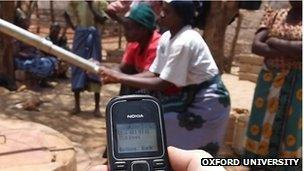 Kenya pump texting mobile