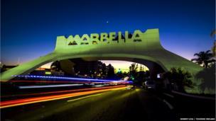 Marbella Arches, Spain