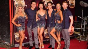 Oksana Platero, Gorka Marquez, Chloe Hewett, AJ Pritchard, Katya Jones and Neil Jones