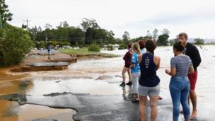 موجة من الطقس السيء تجتاج أستراليا.