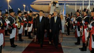 Chinese President Xi Jinping arrives ahead of the G20 leaders summit in Buenos Aires, Argentina November 29, 2018