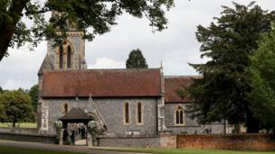 "St Mark""s Church ahead of the wedding of Pippa Middleton and James Matthews in Englefield, Berkshire"