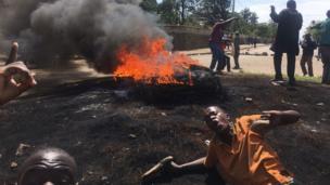 Kenya protesters