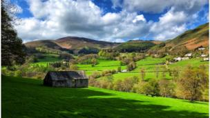 Picture of Denbighshire hills