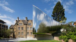 Investcorp Building for Oxford University's Middle East Centre at St Antony's College by Zaha Hadid Architects