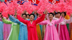 People react as they see North Korean leader Kim Jong Un