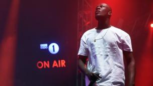Stormzy performs