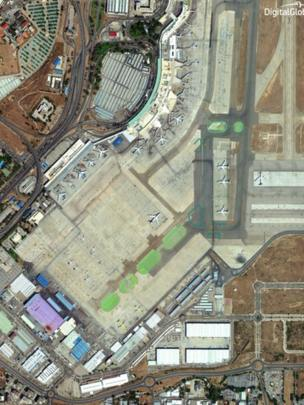 imagen satélite