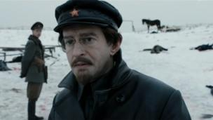 Russian TV drama about Trotsky - screenshot from trailer