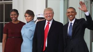 Washington, Trump, Obama