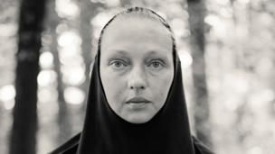 Portrait of a pilgrim by Alys Tomlinson