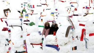مهرجان الثلوج