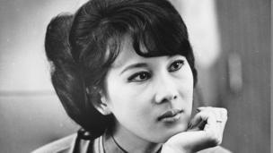 Wife of Vietnamese Leader Nguyen Cao Ky