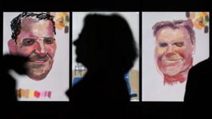 iPad drawings and videos by David Hockney