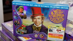 Will Wonka and the Chocolate Factory DVD set
