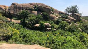 Nyero rocks