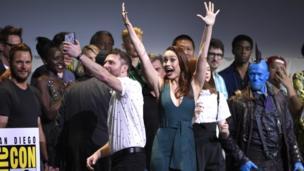 Brie Larson at Comic Con