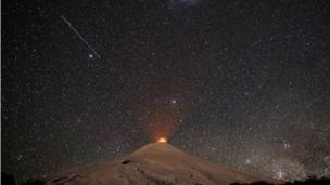 The Villarrica volcano
