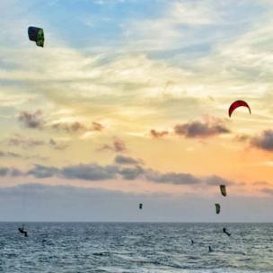 Kitesurfing en Cartagena, Colombia