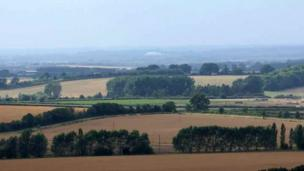 The view from Watlington Hill.