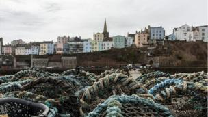 Catch of the day: Aled Westlake's picture of Tenby Harbour certainly caught our eye.