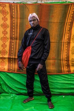 أحمد محمد، 23 عاما، من السودان وقضى شهرا في ليبيا وكان يريد الهجرة إلى فرنسا.