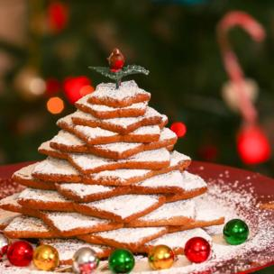 in_pictures Gingerbread Christmas tree
